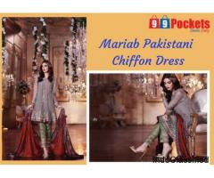 Buy Mariab Pakistani Dress
