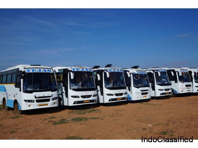 Bangalore Best and Affordable Car, TT, Minibus, Bus Rental Fares