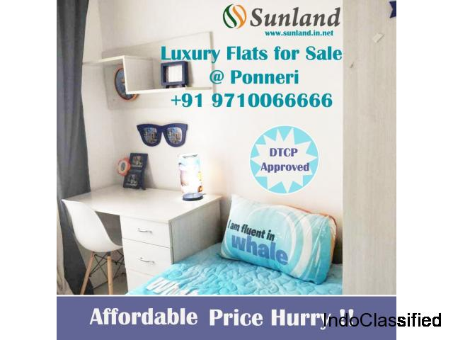 Sunland Properties-Arete Homes ,2,2.5 BHK Flats,3 BHK flats , Apartments for Sale in Chennai