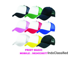 cap printing services in ahmedabad M. 9824539077