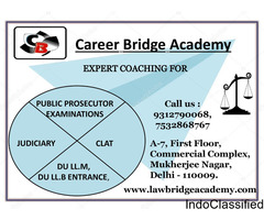Career Bridge Academy | Best Academy for Law Entrance Exams | judiciry