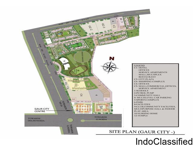 gaur city center noida extension