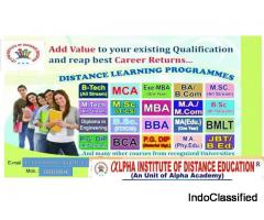 ALPHA  INSTITUTE OF DISTANCE EDUCATION