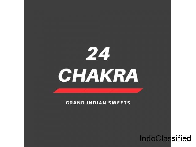 Buy Mouth-Watering Grand Indian Sweets At 24chakra In USA.