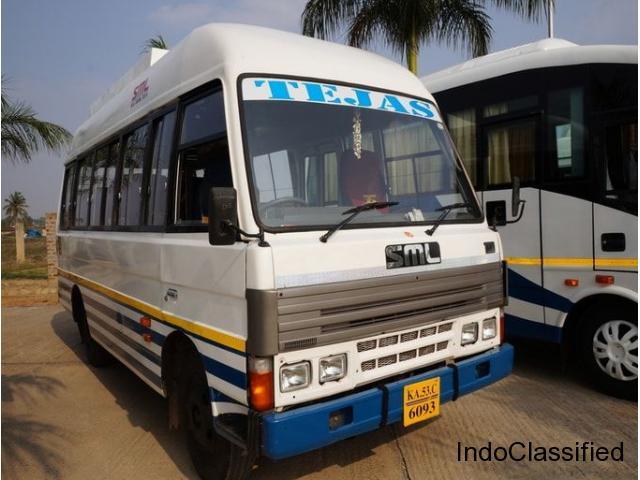 15 Seater Minibus Hire in Mysore – 18 to 22rs Per KM