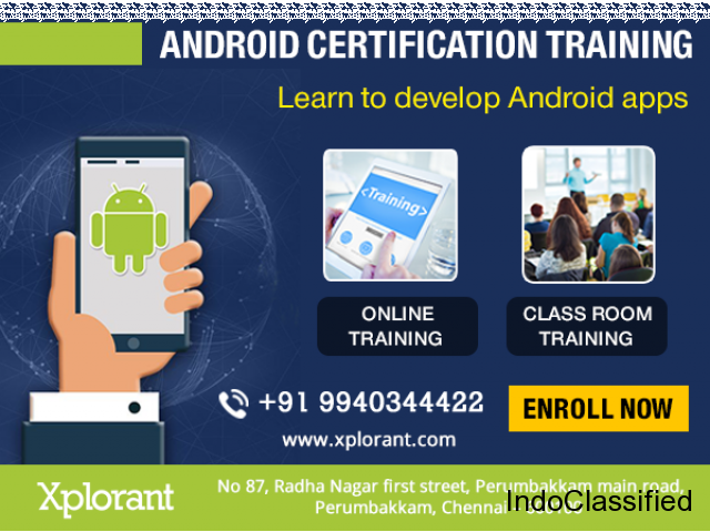 Android Training in Chennai with Placement