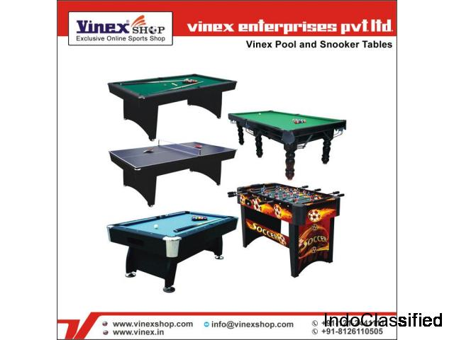 Pool Table, Snooker and Soccer Table