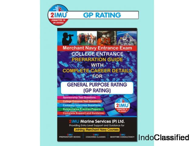 Merchant Navy Books | GP RATING ENTRANCE BOOK | 2imu® Books