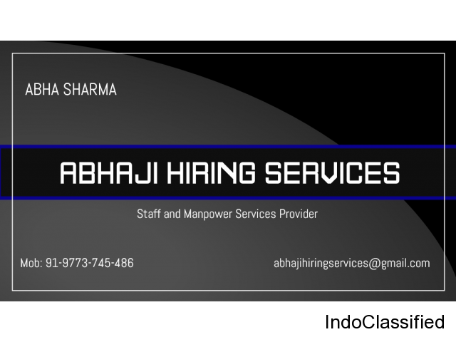 Staff and Manpower Services Provider