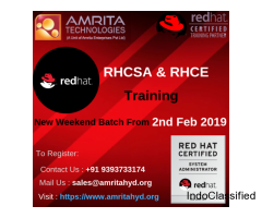 RedHat Certification Training in Hyderabad