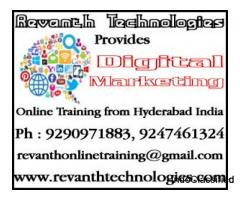 Digital Marketing online classes in Hyderabad