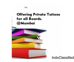 Private tuition for all boards
