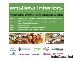 office Turnkey interiors