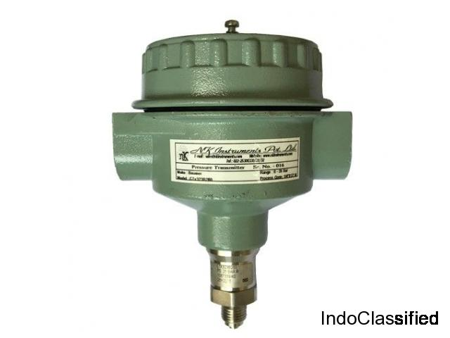 Pressure Transmitters Supplier | NK Instruments Pvt. Ltd.