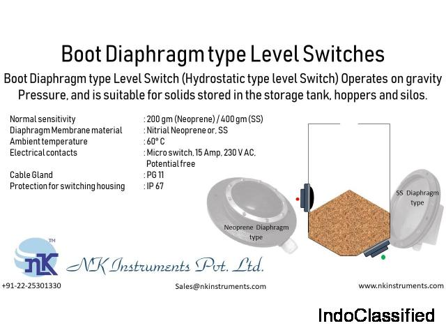 Level Switches Supplier | NK Instruments Pvt. Ltd.
