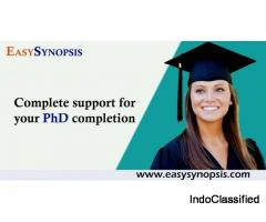 Best phd service in india nationally and internationally - Easysynopsis
