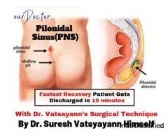 Pilonidal Cyst or Sinus Surgery in Gurgaon/Gurugram