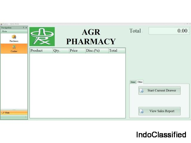 POS System with Inventory for Pharmacy