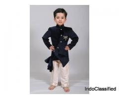 Get Indo western Dresses for your kids at least cost visit Mirraw