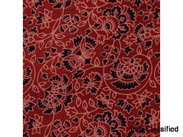 Ajrakh Cotton Fabric  Buy Online From  SSethnics