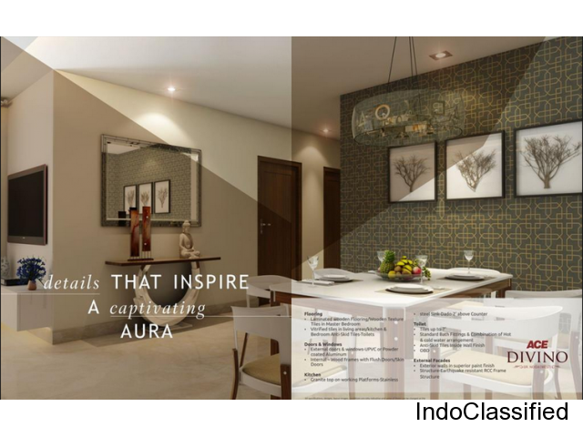 Ace Divino presents 2/3 BHK residential apartments in Gr Noida (W) | 8800-904-942