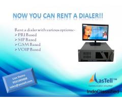 To provide a chance, for small & mid call centers to grow their business, we rent dialers!!