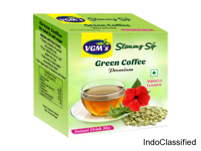 Buy Green Coffee Hibiscus flavour extract in Coimbatore - VGM Health Care