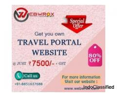 Travel Portal Solution – Webwrox Technology