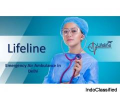 Medically Equipped Air Ambulance in Delhi Deliver End-to-End Medical Aid