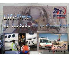 Fortified Air Ambulance in Guwahati Embraces a Complete ICU-Equipped Atmosphere All over