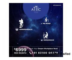The wonderful and world class workspace made ready for you by atticspace – the professionals