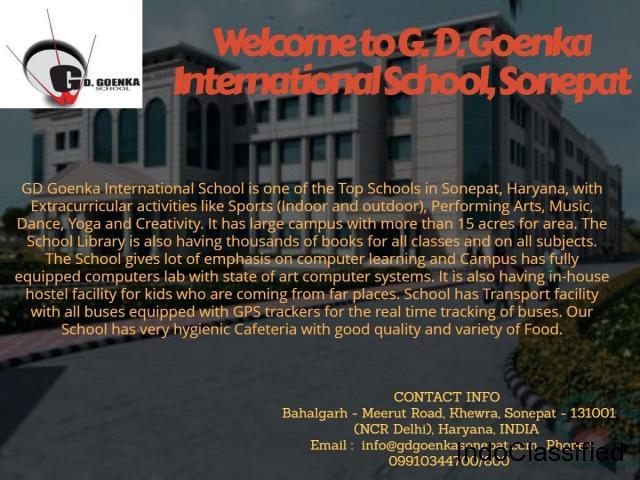 GD Goenka International School is one of the Top Schools in Sonepat, Haryana