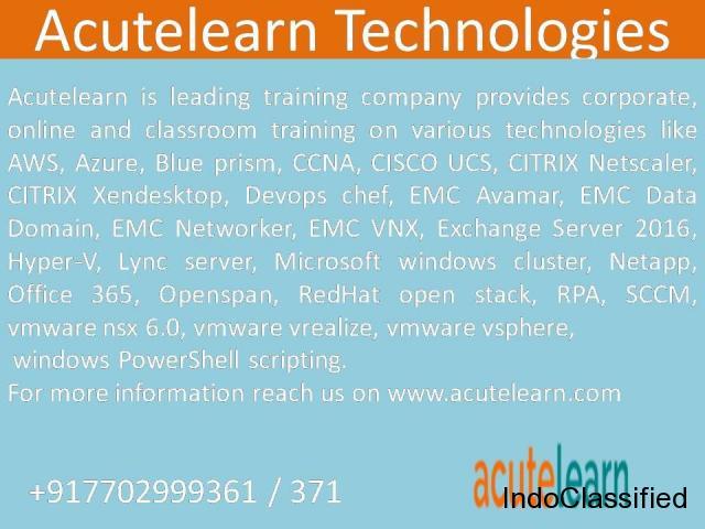 VMware powercli Training