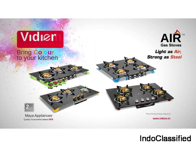 Buy Gas Cook tops, Grinders, Hobs Online at Best Prices in India – Vidiem.in