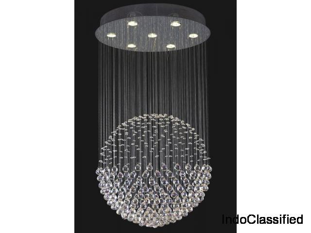 Modern Round Ball Crystal Chadnelier