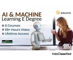 Artificial Intelligence and Machine Learning E-Degree by Eduonix Learning Solutions | Kickstarter