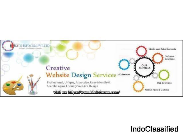 Website Design Company Delhi India  - kitoinfocom.com