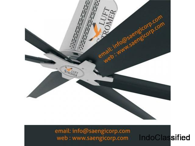 High volume and Low Speed Fan manufacturer