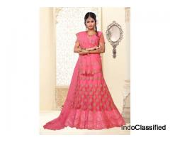Mirraw Offers Pink Lehenga Designs At Best Prices