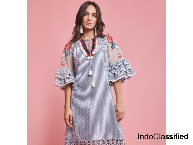 Designer Dresses  – Upto 70% off! Head over to Aza's Big Luxury Sale 2019