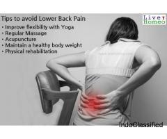 Set Yourself Free From Back Pain With Homeopathy