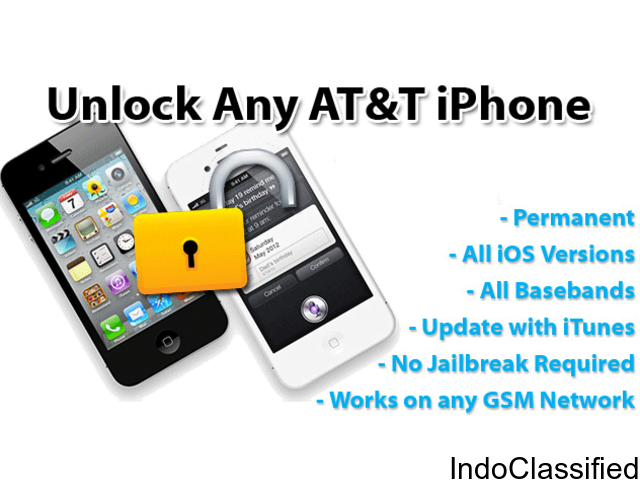 AT&T iPhone Premium Network Unlock Services