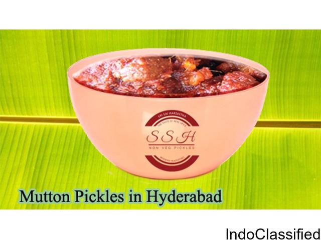 mutton pickles in hyderabad