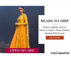 Upto 70% Off + Delivery in 5 days on Designer Clothing