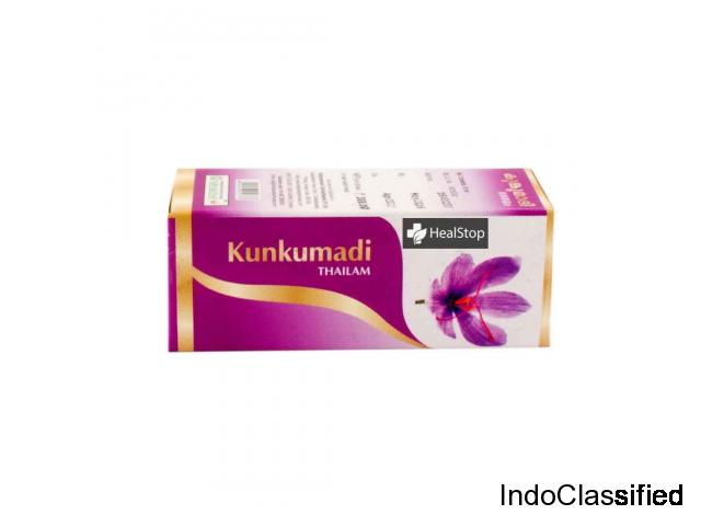 Buy Kunkumadi Thailam, 10ml from Healstop