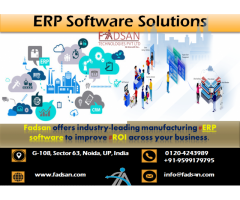 ERP Software Solutions for Small and Medium Enterprise