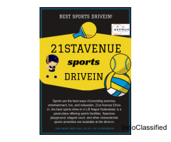 Sports Drive-in for Both Kids and Adults - 21st Avenue DriveIn