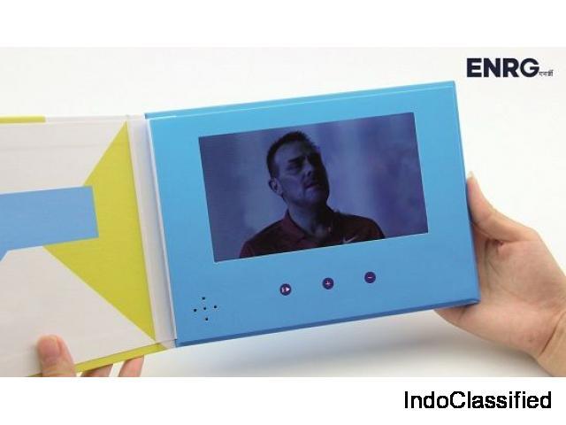 Enhance Branding, Sales with Video Mailers & Video Brochures