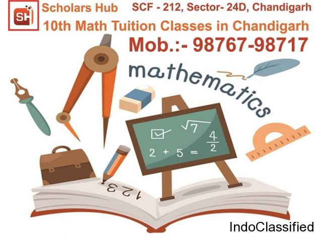 10th Maths Tuitions Classes in Chandigarh