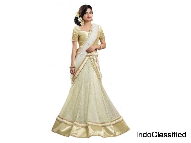 Get Online White Lehenga From Mirraw At Best Prices